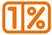 1 procent OPP