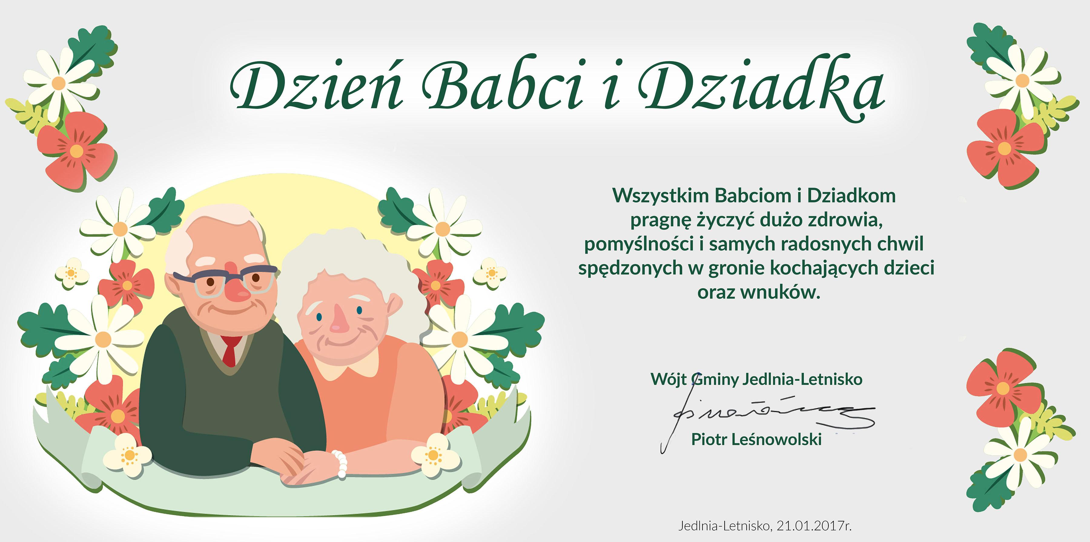 Dzień Babci I Dziadka Aktualności Gminny Portal Internetowy